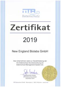 Datenschutz-Zertifikat_NEB_2018