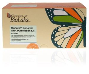 Monarch gDNA Purification Kit Box